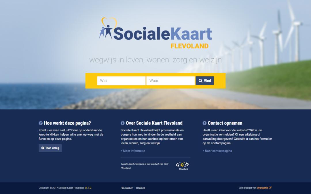 Sociale Kaart Flevoland