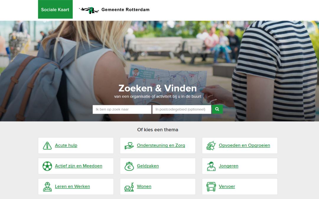 Sociale Kaart Rotterdam